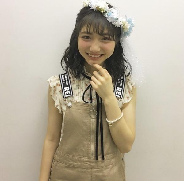 笑顔でカメラ目線の加藤咲希